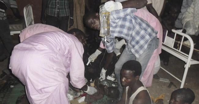 Suicide bomber kills 32 in northeast Nigeria