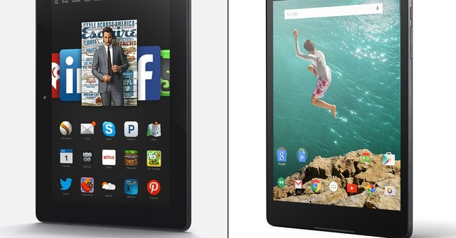 Tablet Review: Amazon's Fire vs Google's Nexus 9