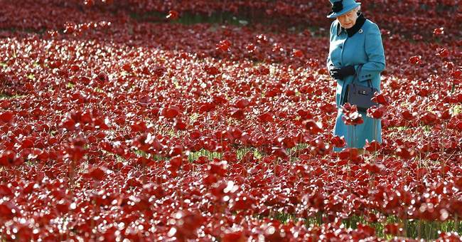 Tower of London poppy display draws huge crowds