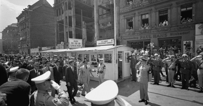 AP PHOTOS: Berlin when the Wall stood and today