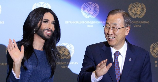 UN chief, Austrian cross-dresser urge tolerance