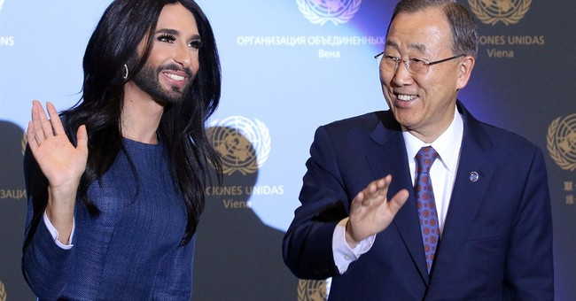 UN chief, Austrian cross-dresser urge tolerance