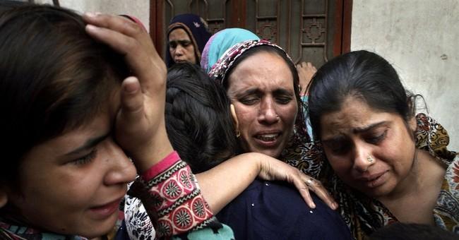 Pakistan border bombing death toll rises to 60