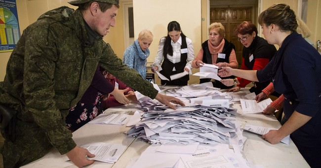 Russian backs Ukrainian separatist vote