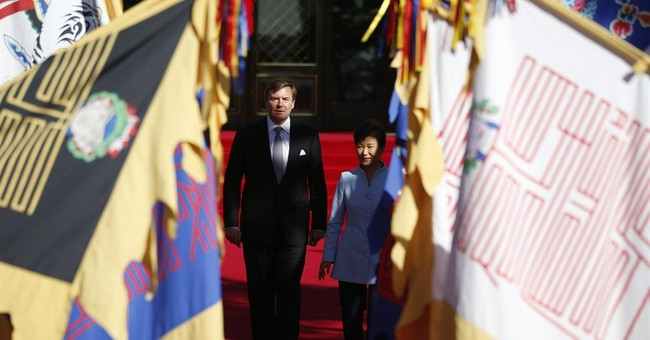 Image of Asia: Royal welcome in South Korea
