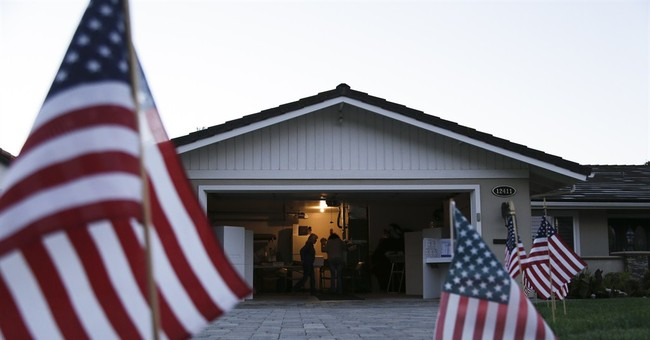 AP PHOTOS: Americans cast ballots on Election Day