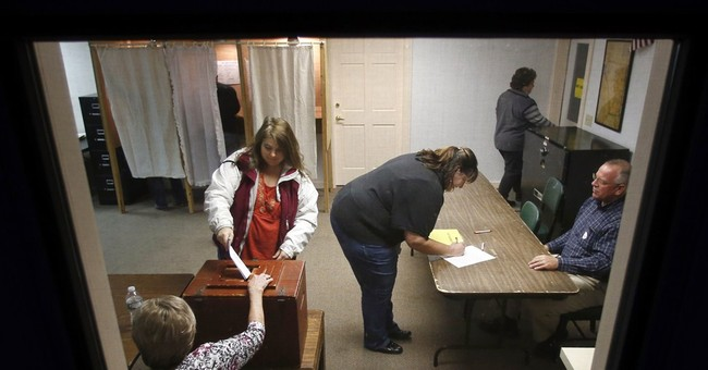 Exit poll: Nation in a funk turns to Republicans