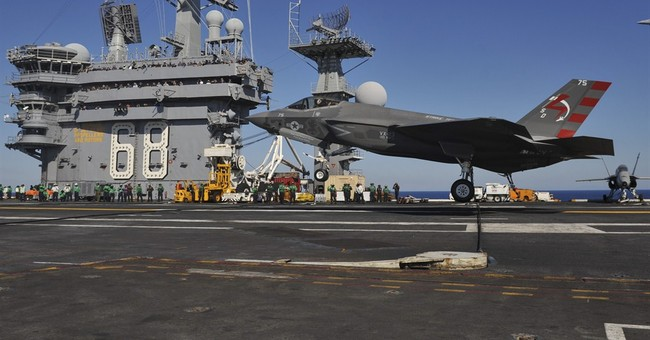 Navy completes first F-35C carrier landings