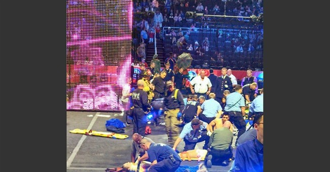 Circus cited for hair-hanging stunt that injured 9