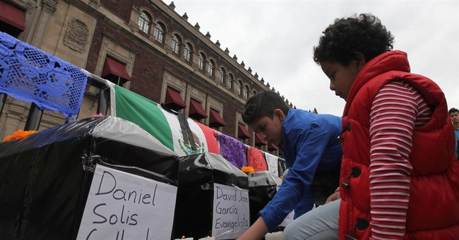 Protesters demand Mexico find 43 missing students
