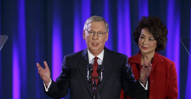 For new Senate leader McConnell, a goal achieved