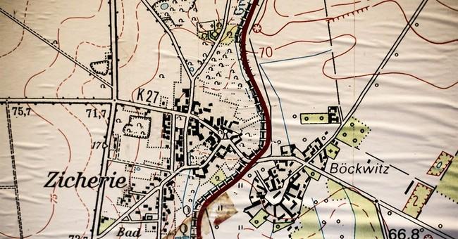 Twin German towns split by wall reunited again