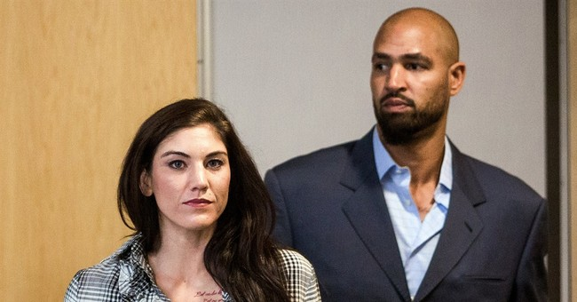 Domestic violence trial date set for Hope Solo