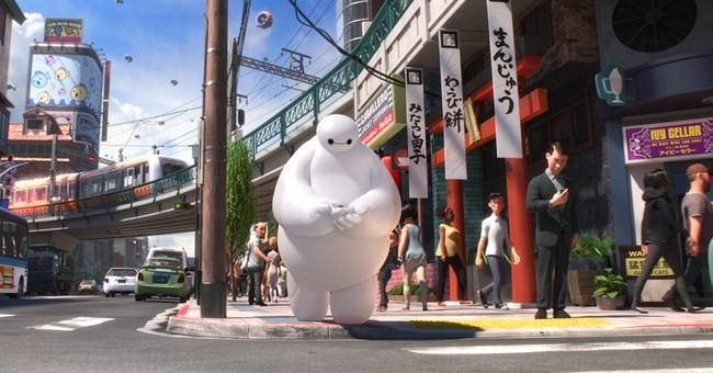 Review: In 'Big Hero 6,' Disney does Marvel