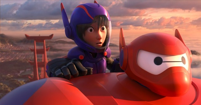 Review: In 'Big Hero 6,' Disney does Marvel