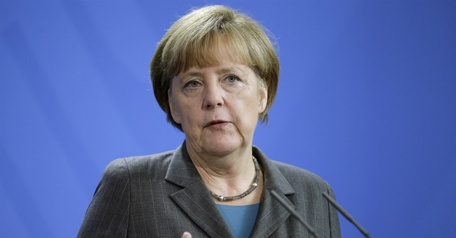 Merkel underlines displeasure over Russian role