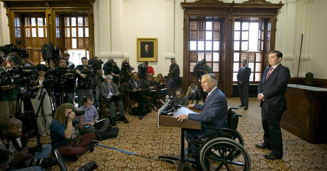 Texas' new governor not the same kind of cowboy