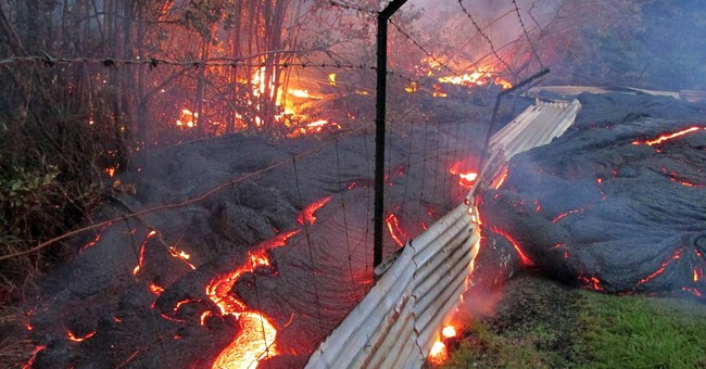 Access route over Hawaii lava raises concerns