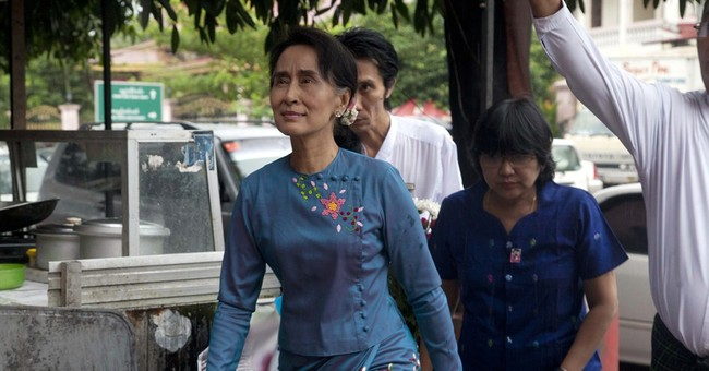 Suu Kyi says Myanmar's reforms have stalled