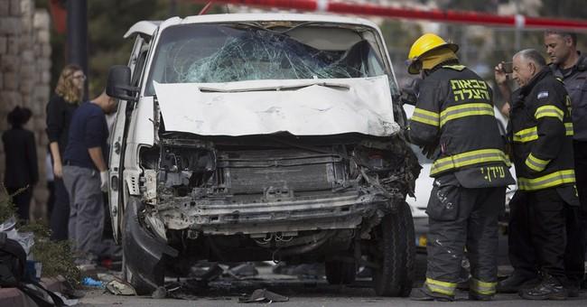 Israeli police: Driver slams car into pedestrians