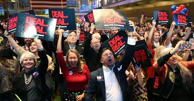Anger, demographics shape GOP 'blue state' success
