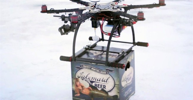 Craft brewer's drone delivery hopes put on ice