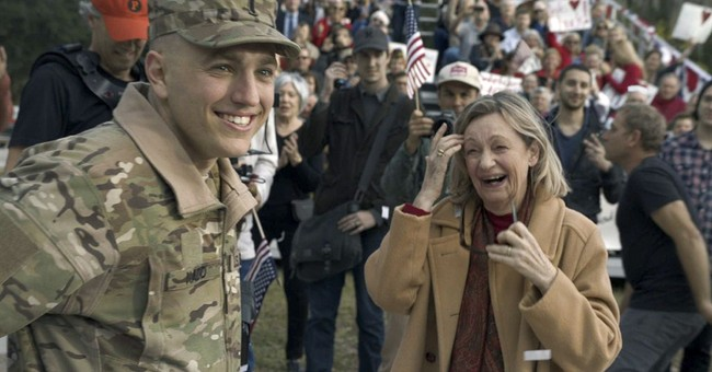 Fla. soldier, his hometown star in Super Bowl ad