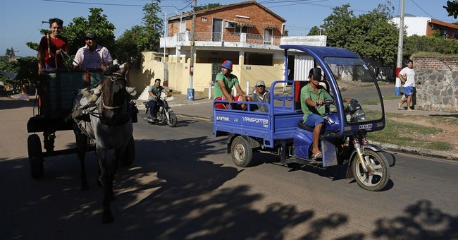 Paraguay phases out horse-drawn junk wagons