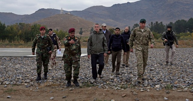 NATO leader in Afghanistan vows continued support
