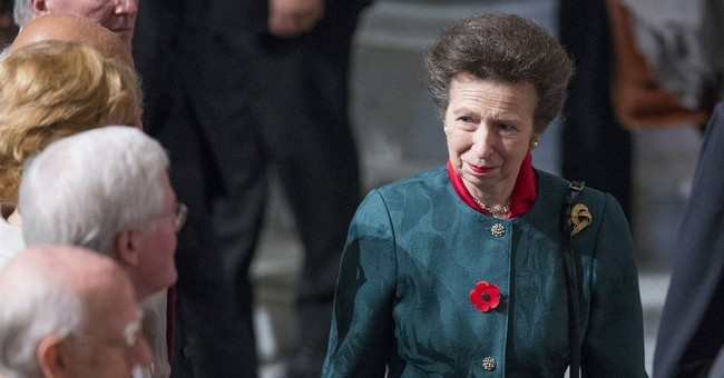 Britain's Princess Anne visits Library of Congress