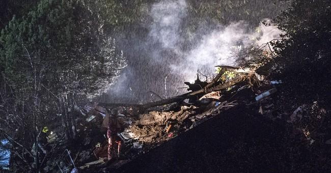 Woman, child killed in Swiss landslide