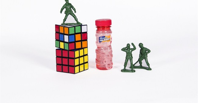 Green army men, Rubik's Cube make Toy Hall of Fame
