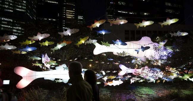 Image of Asia: Hanji lanterns light up Seoul