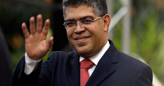 Venezuelan official ruffles feathers in Brazil