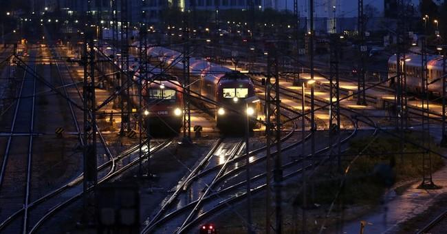 German rail strike causes commuter chaos
