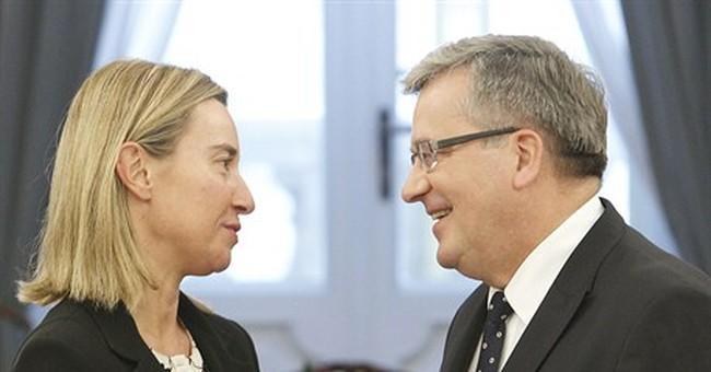 EU's Mogherini: more sanctions on Russia possible