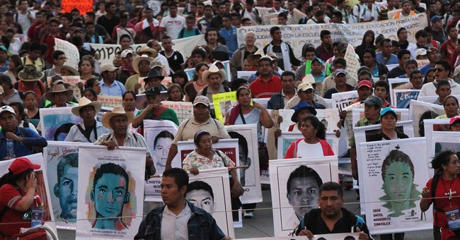 Mexico: Burned remains probably are 43 missing