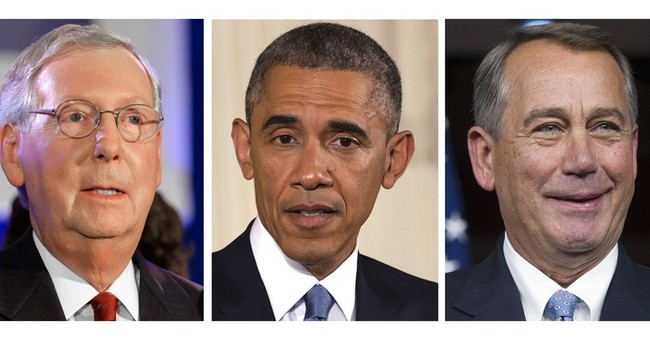 3 takes on DC, from Obama, McConnell, Boehner
