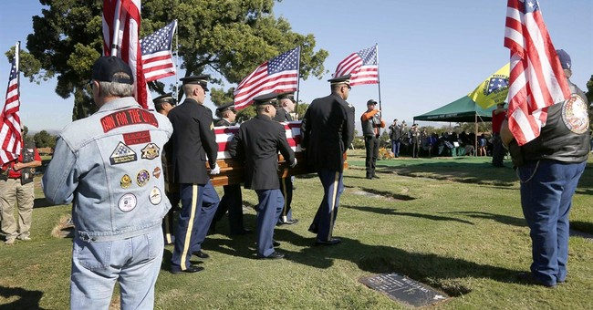 Funeral held for soldier who died in Korean War