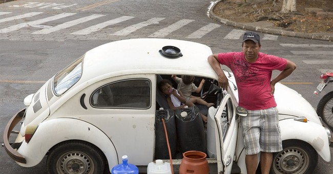 Biggest Brazil metro area desperate for water