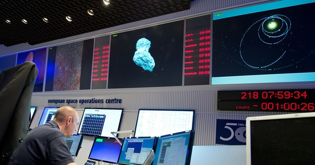 Scientists gear up to land 1st spacecraft on comet