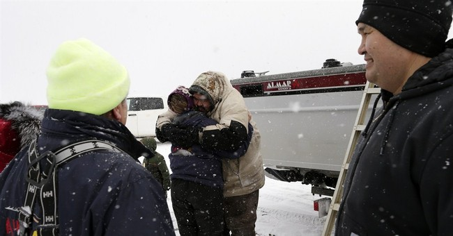 AP PHOTOS: Whale catch is survival in Alaska town