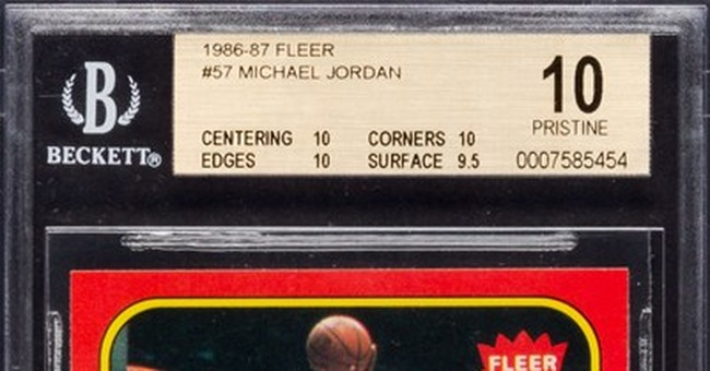 Jordan rookie card fails to sell at auction
