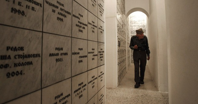 86-year-old Serb guards over WWI dead in Greece