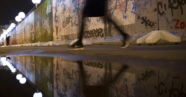 Germany marks 25 years since Berlin Wall's fall