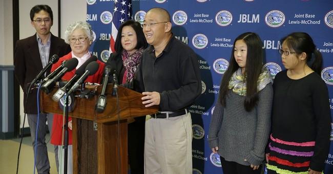 Freed North Korea detainee focuses on food, family