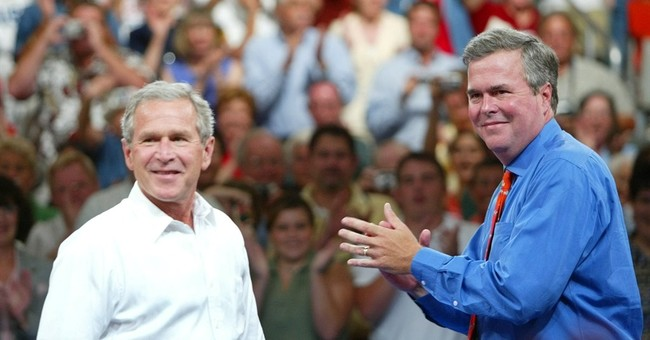 George W. Bush gives 50-50 odds Jeb run in 2016