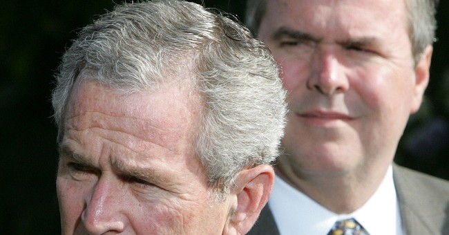 George W. Bush gives 50-50 odds Jeb run in 2016