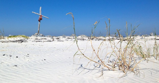 Gulf island whole 9 years after Katrina