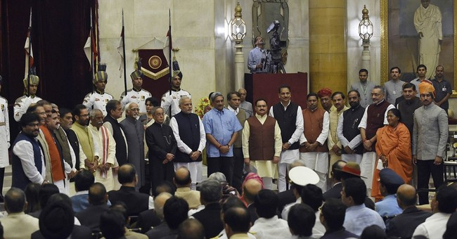Indian prime minister expands council of ministers